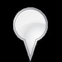 bulbgrey, attach, location, pin icon