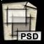 photo, image, picture, pic, gnome, psd icon
