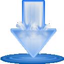 deluge,download icon