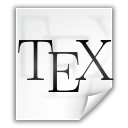 File, Latex, Tex icon