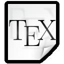 File, Latex, Tex icon