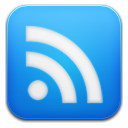 google reader blue icon