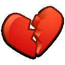 heart, broken icon