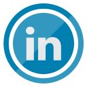social, media, network, linkedin, logo, communication icon