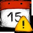 Date, Error icon