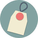 shopping, shop, sale, online, tag, pin, label icon