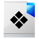 file, paper, default, document icon