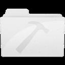 DeveloperFolder White icon