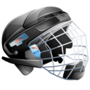 Helmet, Hockey, Ice icon