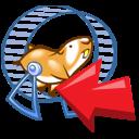 hamster, uninstall, animal, product icon