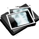 x-ray, folder, thorax icon