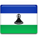 flag, lesotho, country icon