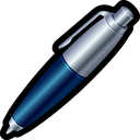 edit, pen, write, jotter, ballpen, parker icon