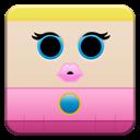 mario, peach, cartoon icon