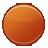 point, orange, round, circle, ball icon