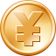 ducat, dollars, yen, base, shapes, piece, coin, piece of money, cash, currency, dough, money, shiner icon