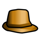 inspector,hat icon