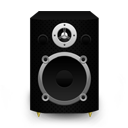 Speaker Black Plastic icon