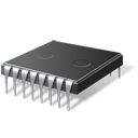 processor, cpu, chip, hardware, microchip icon