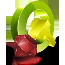 Qt, Ruby icon