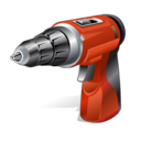 tool, hand driller icon