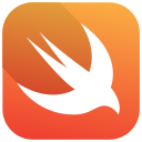 apple, logo, swift, code icon