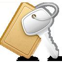 checkin, key icon