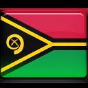 vanuatu, country, flag icon