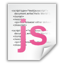javascript, application icon