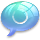 connect3 Light Blue icon