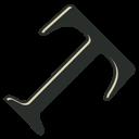 Type, Vintage icon