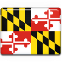 maryland, flag icon