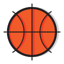 game, sports, sport, ball, play, basketball icon