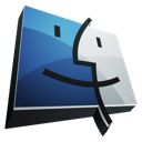 finder, apple, mac os x icon