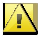 wrong, exclamation, alert, warning, error icon