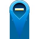 remove, location, pin icon