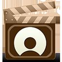 movie, netlog icon