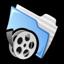 folder, film, video, movie icon