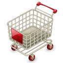 empty shopping cart icon