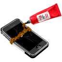 apple, iphone, mobile phone, cell phone, smartphone icon