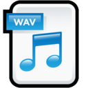 File Audio WAV icon