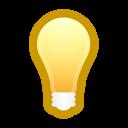 energy, tip, bulb, light, idea, hint, bulb on icon