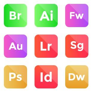 Adobe vol 4 icon sets preview