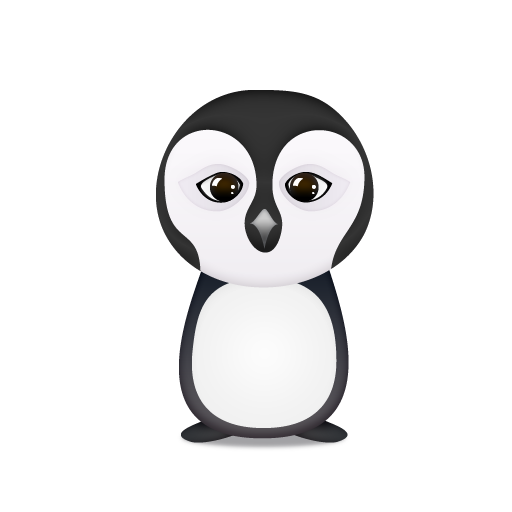 trans, penguino icon