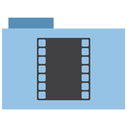 appicns, movie, folder icon