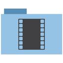 appicns, movie, folder icon