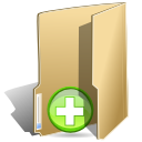 new, folder icon