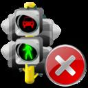 Close, Lights, Traffic icon