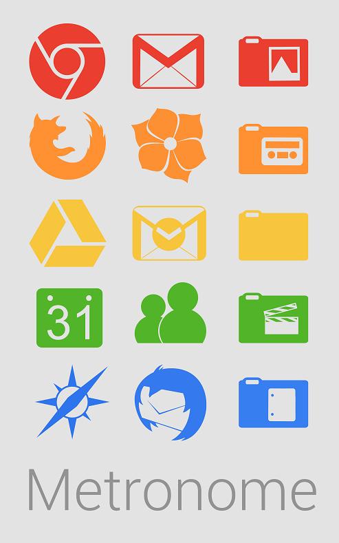 metronome, splash icon