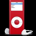 iPod nano rouge SIDA icon